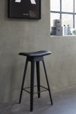 Andersen Furniture - HC1 Barstol m. lädersits