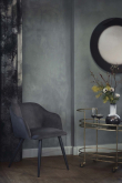 Shadow Spegel - Svart kant, Ø80
