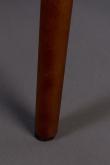Dutchbone Barbara Matstol - Orange velour