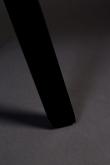 Dutchbone Blackwood Matstol - Svart  PU
