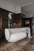 Ferm Living - Rico 3-sits Soffa - Off White bouclé