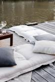 Sit&Sleep Out Futon madrass/stol - Vit