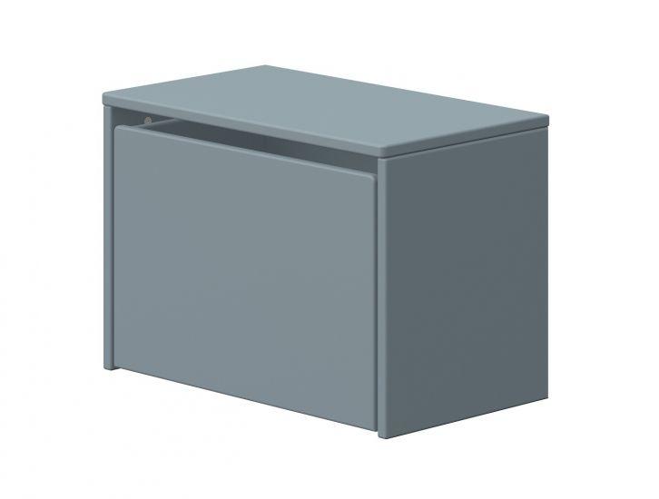 FLEXA - Dots Förvaringsbänk - Ljusblå