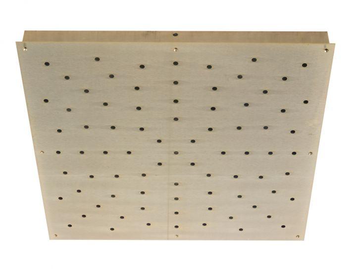 Ebb&Flow - Ceiling box, square, L, Guld