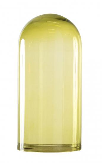 EBB & FLOW  - Glasdome till Speak Up! Lamp, olive, Ø20
