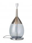 EBB & FLOW  - Lute Lampfot, topaz blue/platin, Silverbas