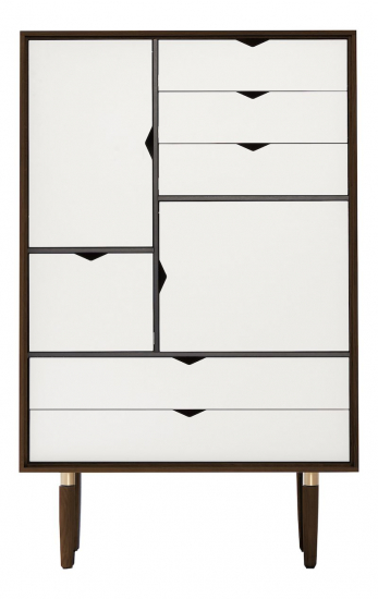 Andersen Furniture - S5 Skänk - Valnöt/Vit