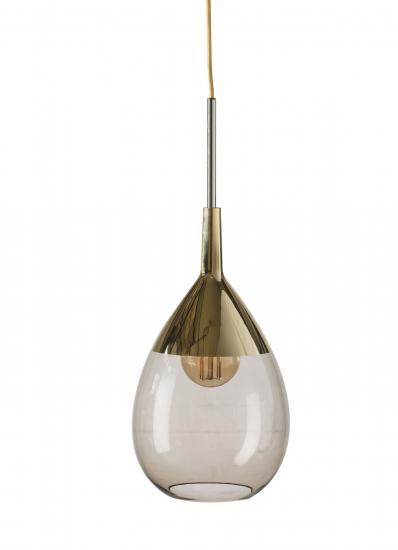 EBB & FLOW  - Lute Pendel, Chestnut / Guld
