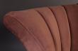 Dutchbone - Flair Loungestol - Mörk Pink