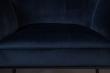 Dutchbone - Kate Matstol m/armstöd - Deep blue