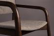 Dutchbone Torrance Matstol m/armstöd - Brun