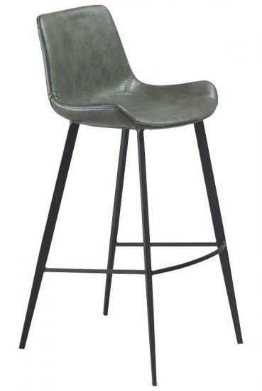 Danform - Hype Barstol  - Vintage Grön