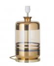 EBB & FLOW  - Pillar Lampfot, Guld stripes/Golden smoke, Guld bas