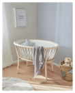 Kave Home Leonela Babysäng med madrass - 97x62