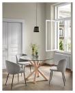 Kave Home Minna Matstol - Svart/Grå