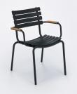 HOUE - CLIPS Trädgårdsstol - Black/Bambu