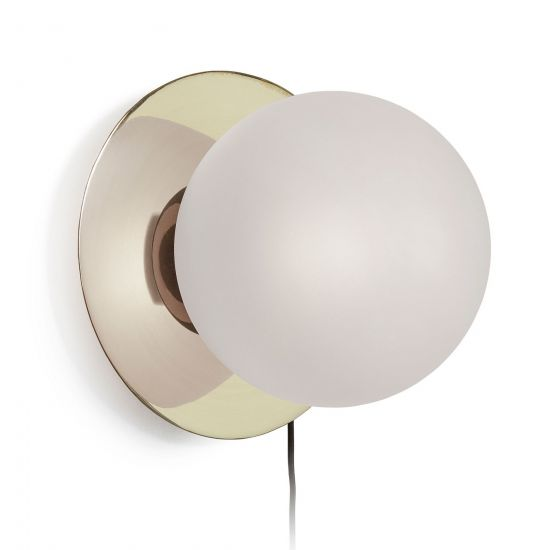LaForma - Manz Vägglampa m. frostat glas