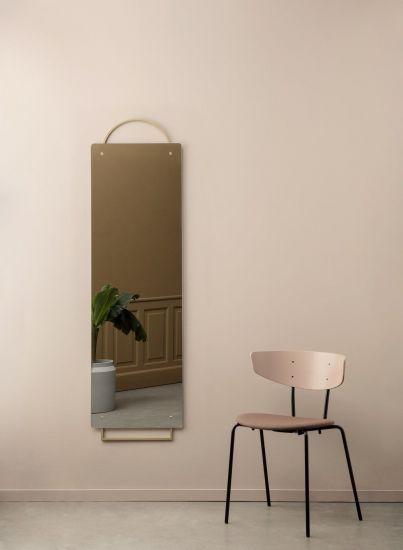 Ferm Living - Adorn Spegel 159x45 - Mässing