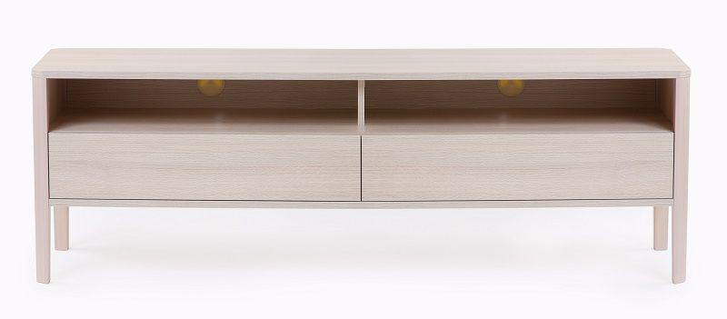 Woodman - Oslo TV-bänk m/2 lådor - MFC