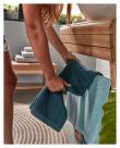 Kave Home - Sunday Handdukshållare m. vask - Teak