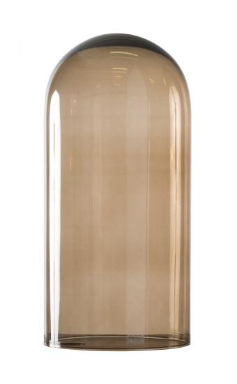 Ebb&Flow - Glasdome till Speak UP! Lamp, Chestnut, Ø20