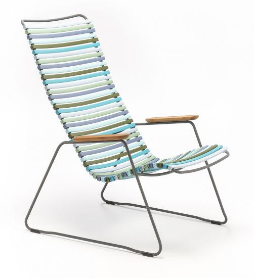 HOUE - CLICK Loungestol - Multi pastel