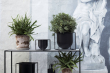 by Lassen - Kubus Flowerpot 23, Svart