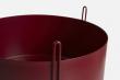 WOUD - Piedestal Flowerpot medium - Röd
