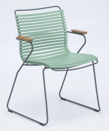 HOUE - CLICK Trädgårdsstol m. armstöd  - Dusty green