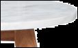 Zuiver - White Stone Soffbord - Vit - Ø32
