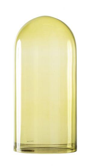 Ebb&Flow - Glasdome till Speak Up! Lamp, olive, Ø15,5