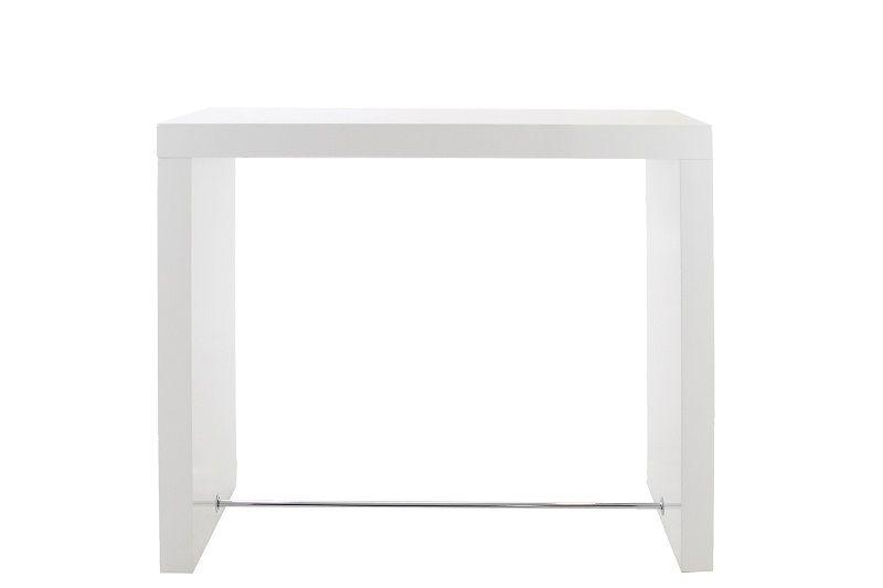 Arch Barbord H105 cm - Vit högglans