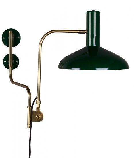 Dutchbone - Devi Vägglampa - Grön