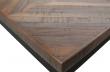 Rhombic Matbord - Teak/metalll, 180x90