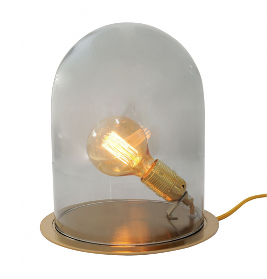 EBB & FLOW  - Glasdome till Glow in a Dome, smokey grå, Ø20