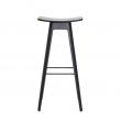 Andersen Furniture - HC1 Barstol - Svart m. sits i fanér