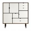 Andersen Furniture - S3 Skänk - Valnöt/Vit