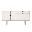 Andersen Furniture - S6 Skänk - Såpabehandlad ek/vit
