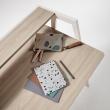 Kave Home - Aarhus Skrivbord - Melamin/Metall