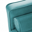 Kave Home Bogart 2-sits Soffa - Turkos sammet