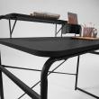 Kave Home - Foreman Skrivbord - Svart Metall
