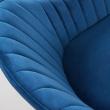Kave Home - Herbert Matstol - Blå sammet