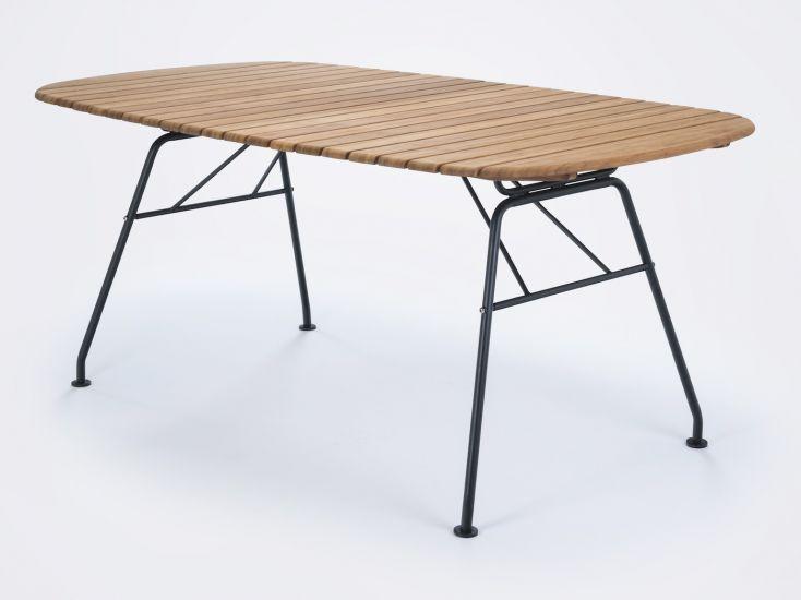 HOUE - BEAM Trädgårdsbord 180x95 - Bambu/Stål