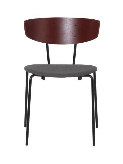 Ferm Living - Herman Matstol - Rödbrun/Warm grey