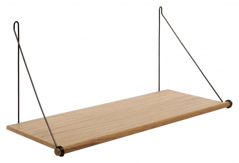 We Do Wood Loop Shelf - Ek/Svart