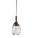 EBB & FLOW  - Lute Pendel, S, Klar / copper