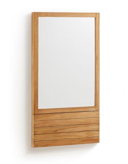 LaForma - Sunday Spegel till badrum - Teak