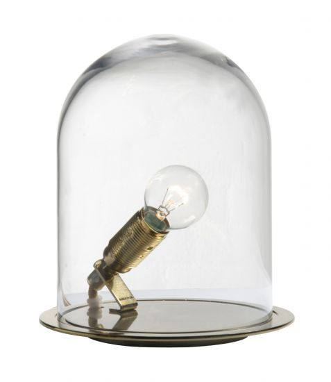Ebb&Flow - Glasdome till Glow in a Dome, Klar, Ø15,5