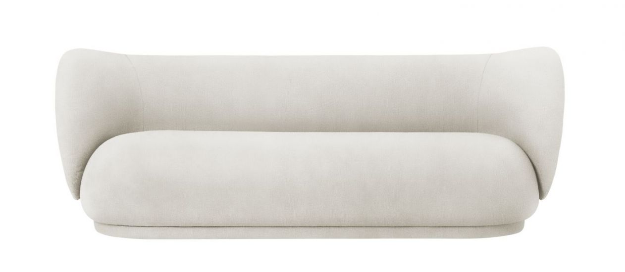 Ferm Living - Rico 3-sits Soffa - Off White