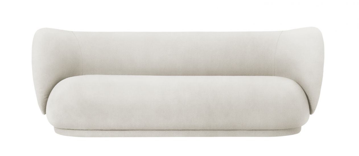 Ferm Living - Rico 3-sits Soffa - Off White